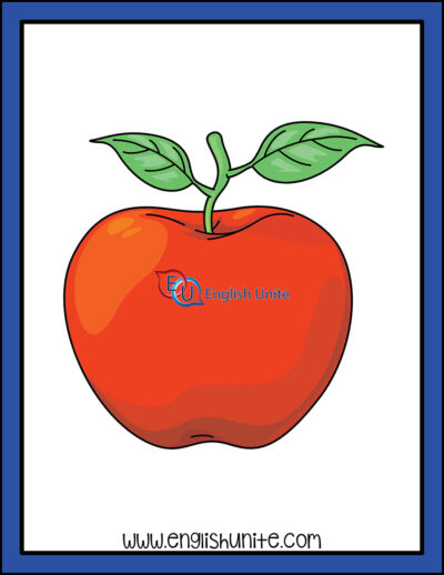 clip art - apple