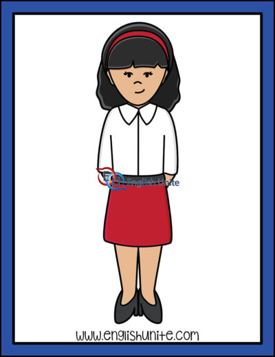 clip art - flight attendant