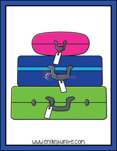 clip art - luggage