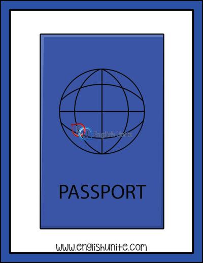 clip art - passport