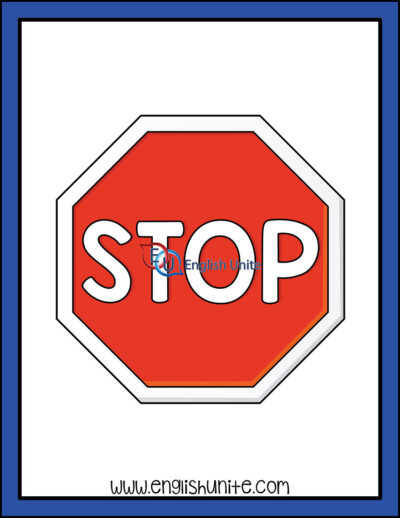 clip art - stop