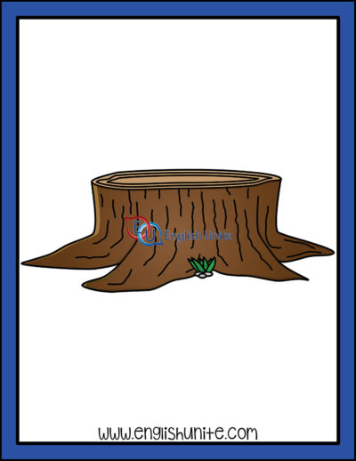 clip art - stump