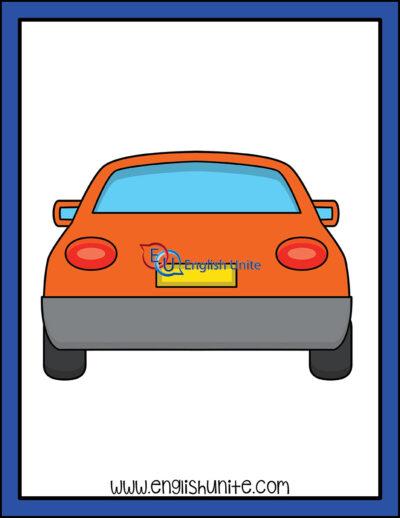 clip art - rear