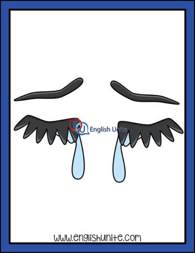 clip art - tear