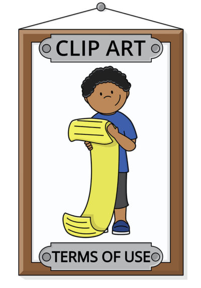 Clip Art Terms of Use