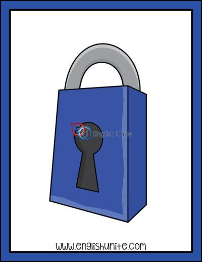 clip art - lock
