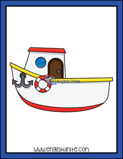 clip art - boat