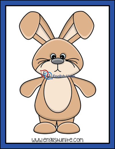 clip art - easter bunny