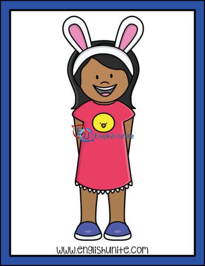 clip art - bunny ears