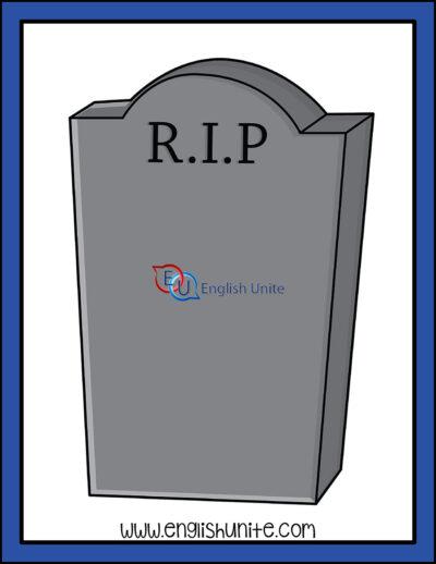 clip art - gravestone