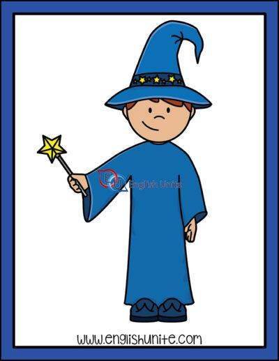 clip art - wizard costume