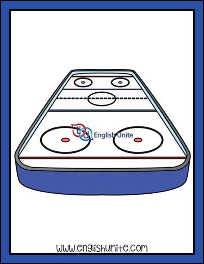 clip art - ice rink