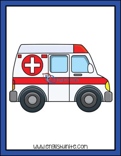 clip art - ambulance