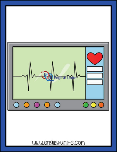 clip art - heart rate monitor