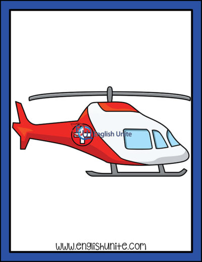 clip art - helicopter