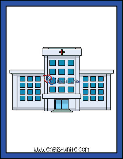 clip art - hospital