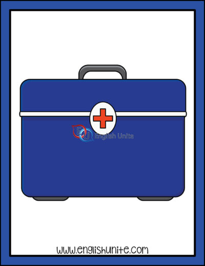 clip art - medical kit