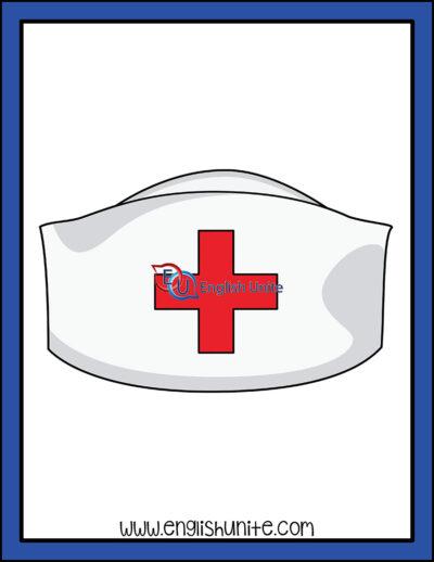 clip art - nurse hat