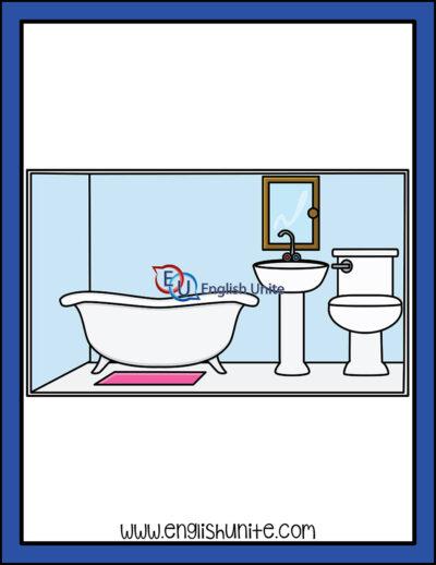 clip art - bathroom