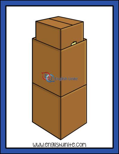 clip art - boxes