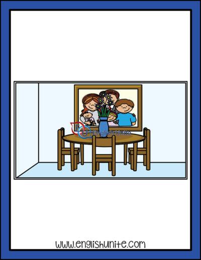 clip art - dining room