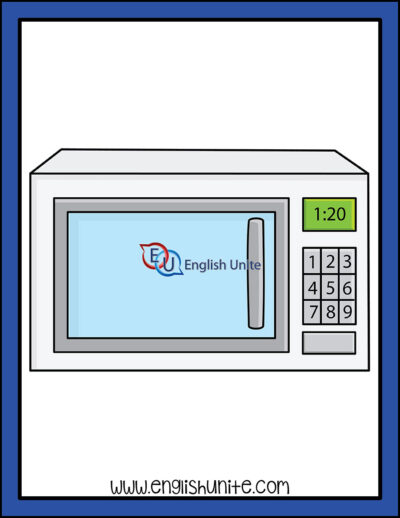 clip art - microwave