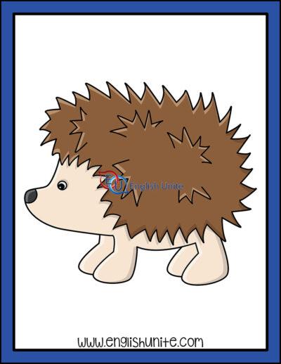clip art - hedgehog
