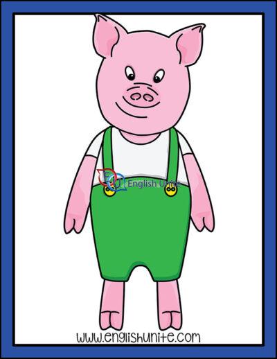 clip art - pig 2