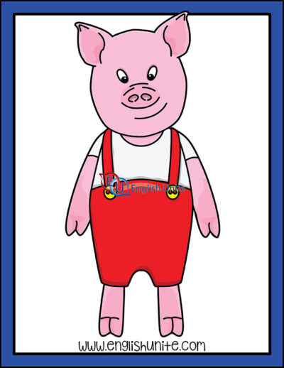 clip art - pig 3