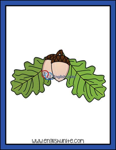 clip art - oak