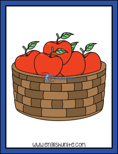 clip art - many apples