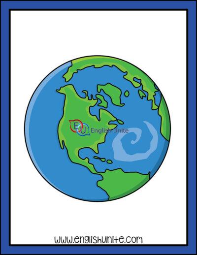clip art - earth