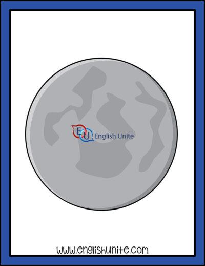 clip art - moon