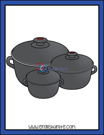 clip art - pots