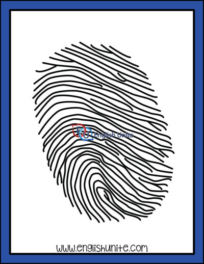 clip art - fingerprint