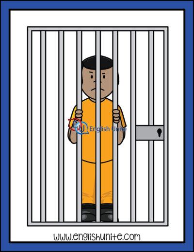 clip art - jail