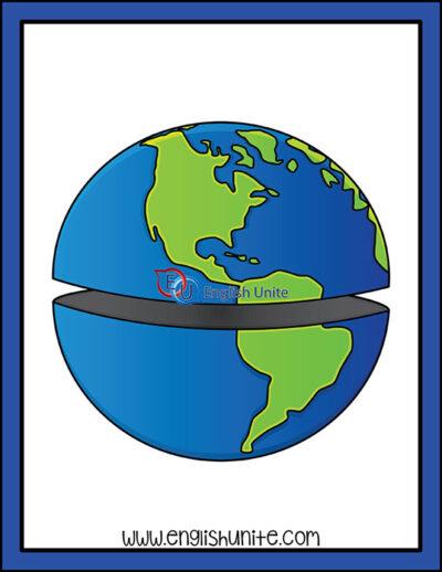 clip art - hemisphere