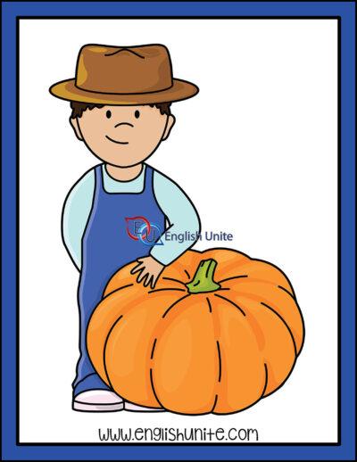 clip art - giant pumpkin