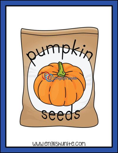 clip art - pumpkin seeds
