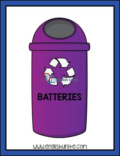 clip art - recycle bin