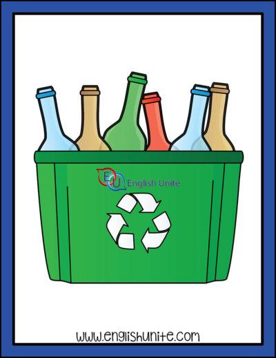 clip art - recycle box