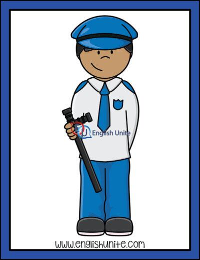 clip art - guard