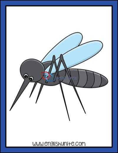 clip art - mosquito