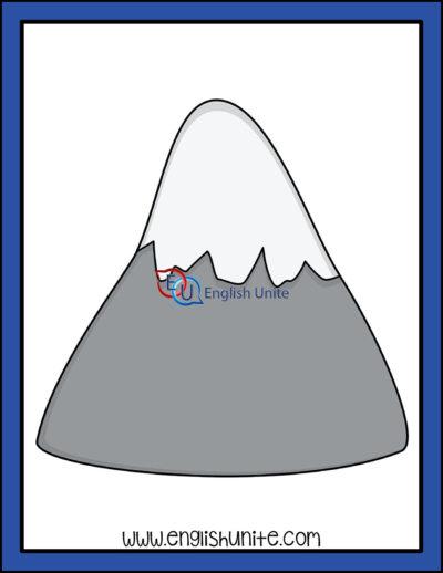 clip art - mountain