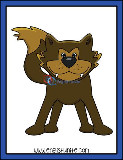 clip art - wolf