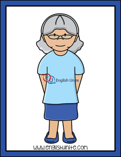 clip art - grandma