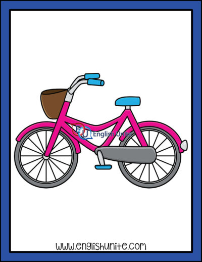 clip art - bicycle