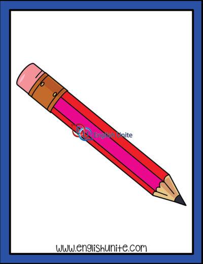 clip art - pencil