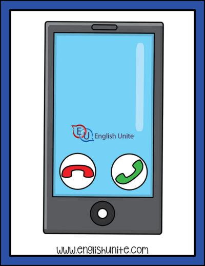clip art - emergency call