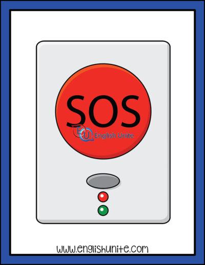 clip art - panick button